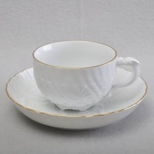 マイセン スワンハンドルのカップ&ソーサー