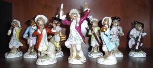 マイセン 猿の楽団 人形