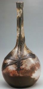 蜻蛉文頸扁瓶