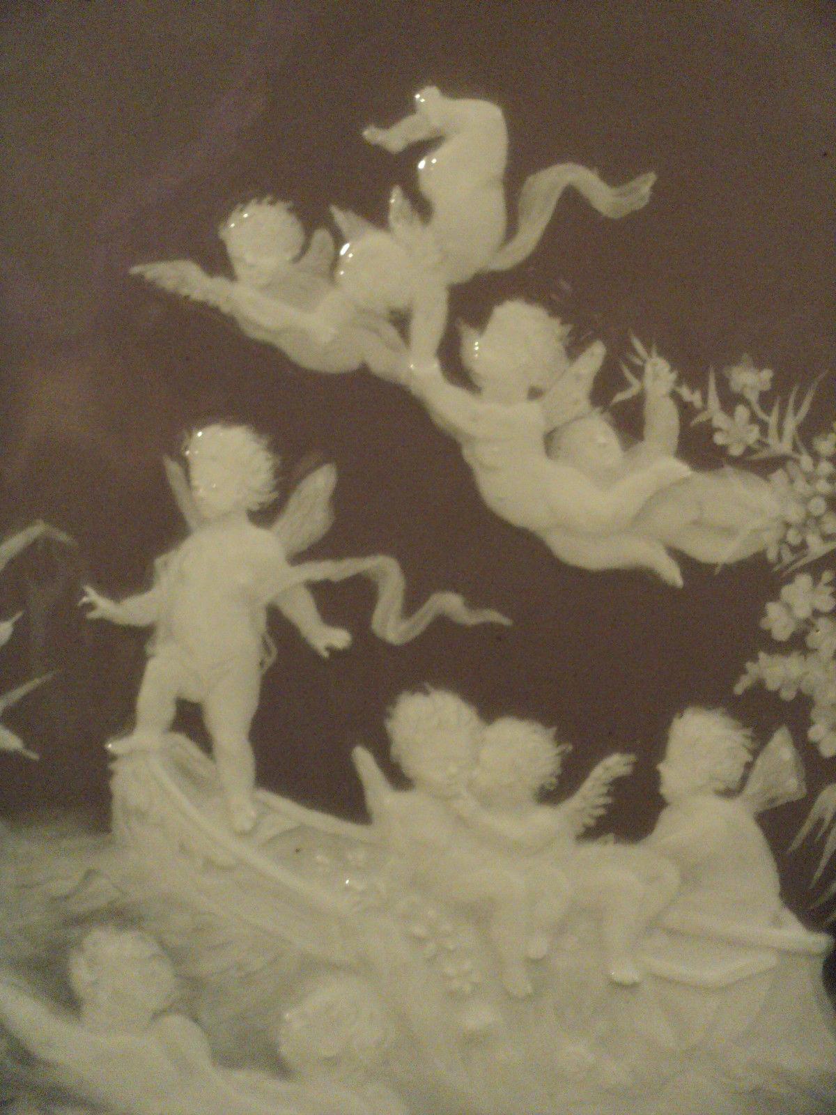 パテ・シュール・パテ技法を使ったの陶版画