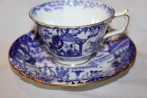 ブルーミカドのカップ&ソーサー