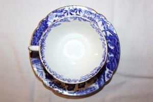 ブルーミカドのカップ