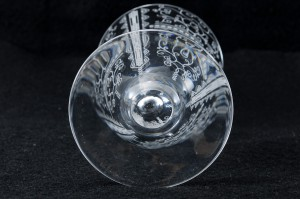 フランスのバカラ(baccarat)グラス リド(LIDO)の口径