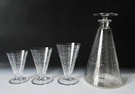フランスのバカラ(baccarat)グラス リド(LIDO)のデカンタ