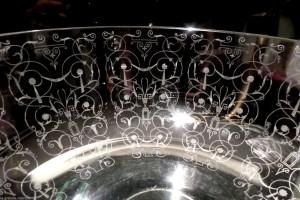 バカラ ミケランジェロの模様 グラス