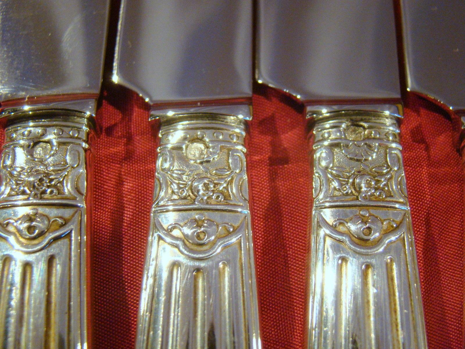 ピュイフォルカのナイフ6本セットの装飾