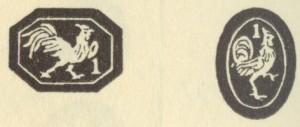 フランスシルバーのホールマーク(950/1000)