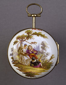 220px-German_-_Watch_with_a_Scene_of_Musicians_-_Walters_58111