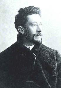 エミールガレの肖像画