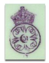 ロイヤルウースター royal worcesterのマーク1887y