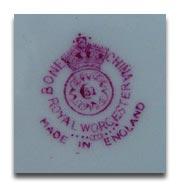 ロイヤルウースター royal worcesterのマーク1940