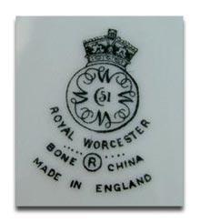 ロイヤルウースター royal worcesterのマーク-modern