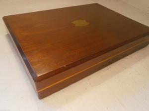 イギリス製シルバーカトラリーの木箱
