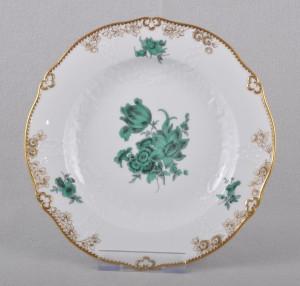 マイセン ワトーの花の飾り皿