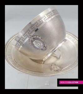 ナポレオン3世様式のティーカップ&ソーサー