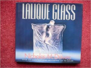 """ルネラリック 洋書 ニコラス・M.・ドーズ著書 """"Lalique Glass"""""""
