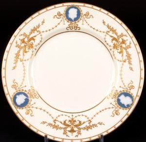 ミントン パテシュールパテの技法を使った飾り皿