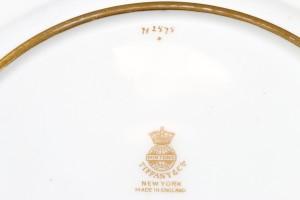 ミントン パテシュールパテの技法を使った飾り皿のサイン