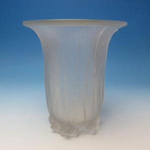 ルネラリック Rene Lalique1925年製 アートグラス ユーカリの花瓶