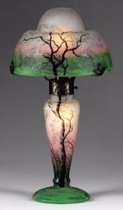 ドーム兄弟の風景図ランプ