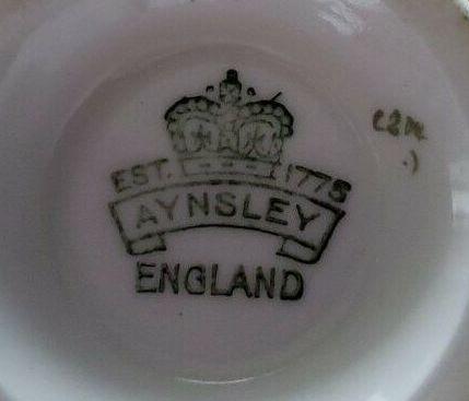 イギリス製エインズレイのサイン2