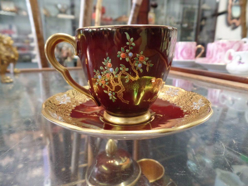 カールトンウェア コーヒーカップ&ソーサー