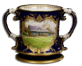 ロイヤルウースターの花瓶