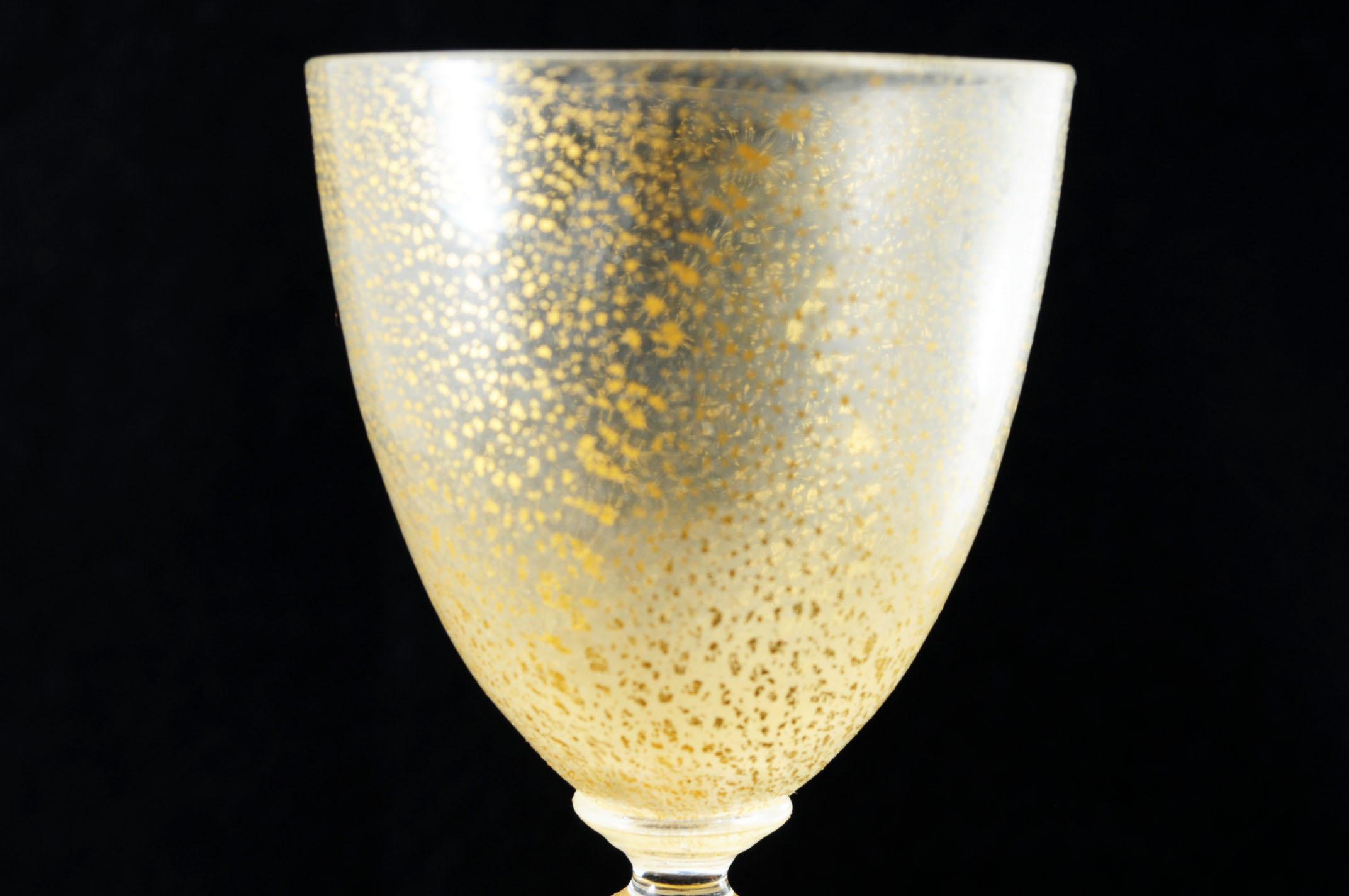 ベネチアングラス リキュールグラス