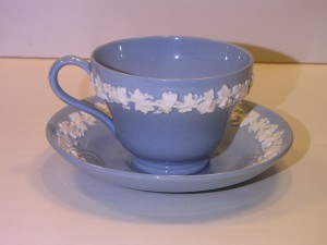 Wedgwood-Lavender-Embossed-Queens-Ware-Cup-and-Saucer-c.1967
