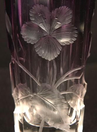 ボヘミアングラス モーゼルのカットグラス