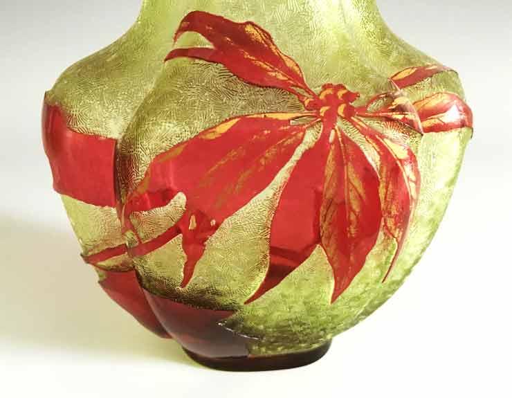 オールドバカラ エグランチエの花瓶