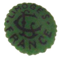 リモージュのマーク(刻印、バックスタンプ)limoges-chambon-0170