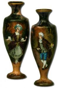 リモージュの花瓶