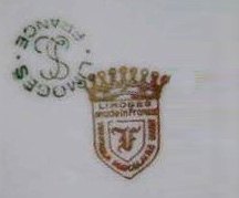 リモージュのマーク(刻印、バックスタンプ)limoges-la-seynie-3483