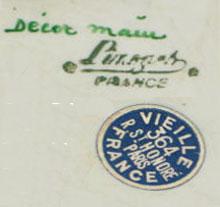 リモージュのマーク(刻印、バックスタンプ) limoges-retailers-mark-1930