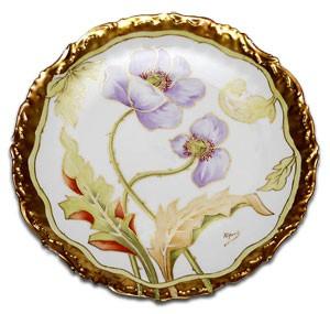 リモージュの飾り皿