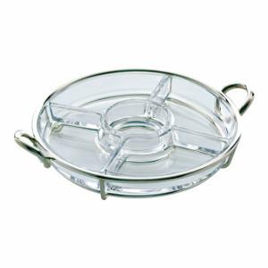 丸形ガラス器アペタイザー用ディッシュ