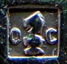 クリストフルシルバーのチェスの刻印