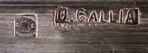 クリストフル galliaの刻印