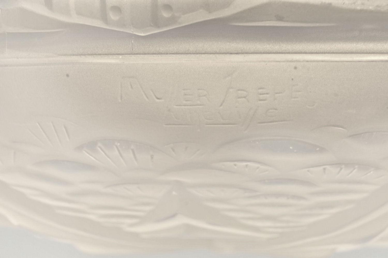 ミューラー兄弟 & プティトー 星型模様 アンティーク証明 ペンダントシャンデリアのサイン