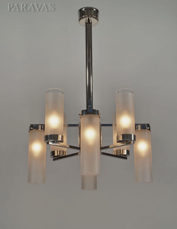 プティトー(Petitot) 8灯アンティーク照明 シャンデリア