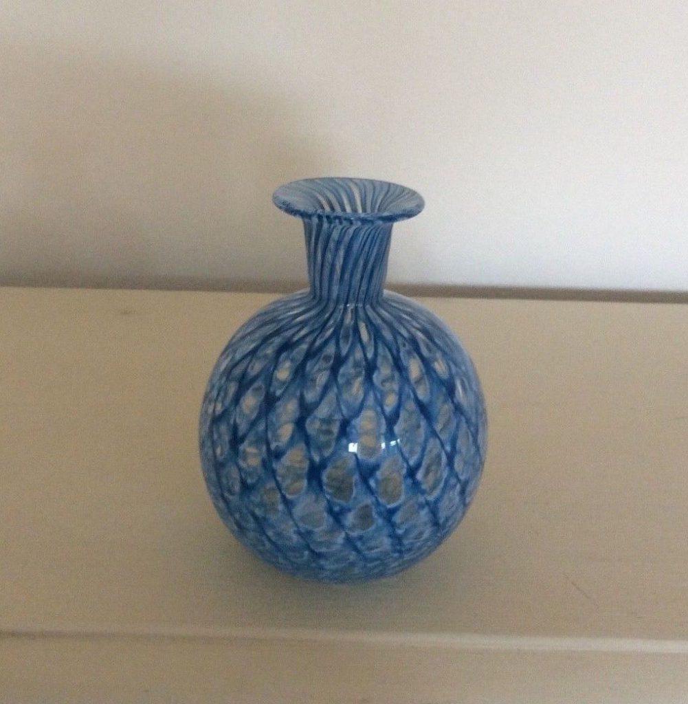 ムラノガラスのディフューザー用の花瓶