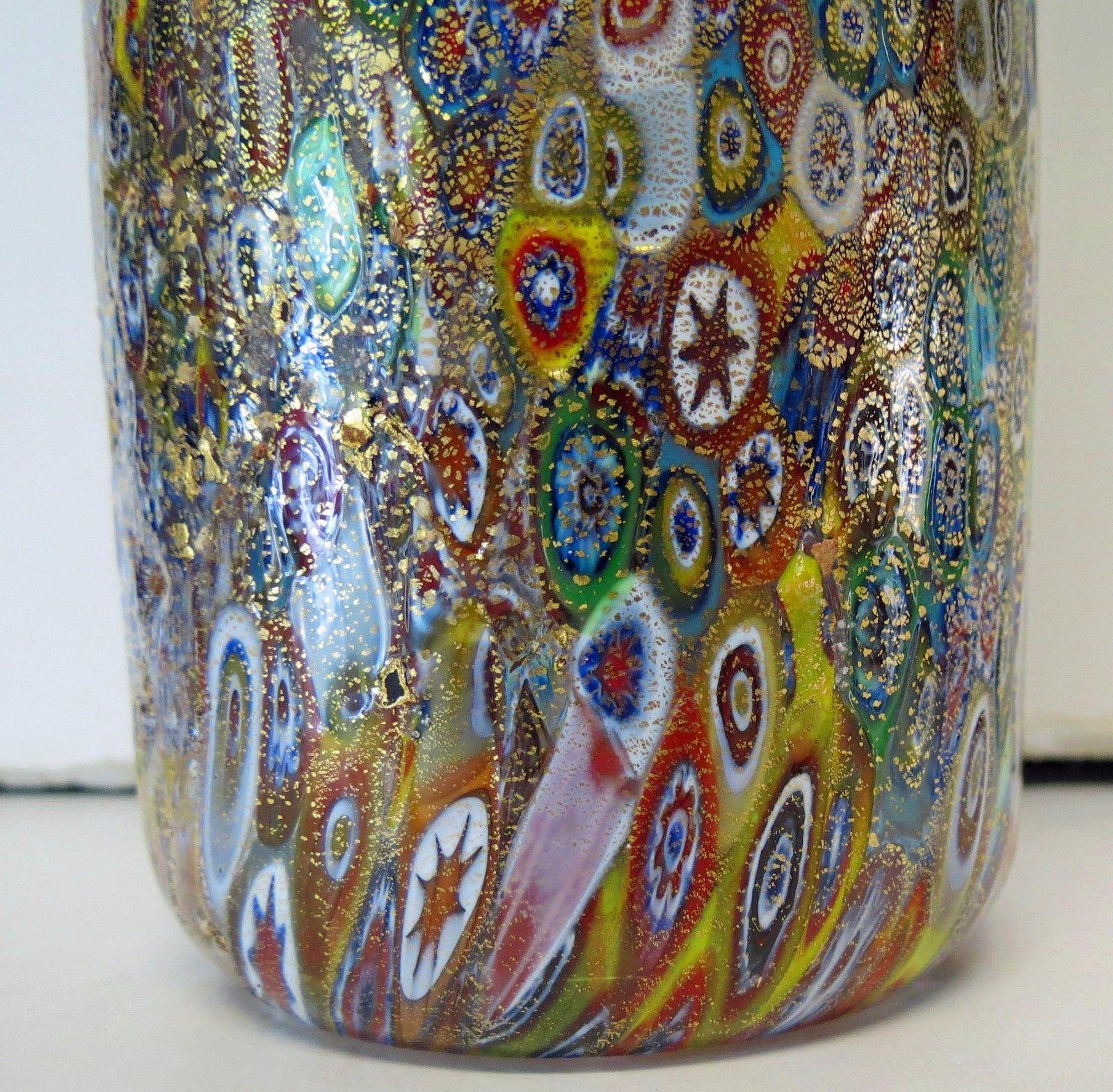 イタリアのヴェネチア製ベネチアングラス(ムラノガラス)の水差し