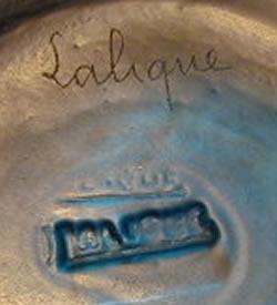 ルネラリック Rene Laliqueのサイン