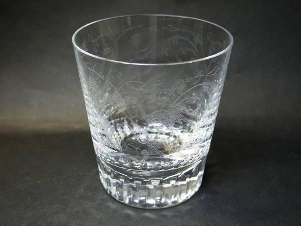バカラグラス baccarat パルメのロックグラス