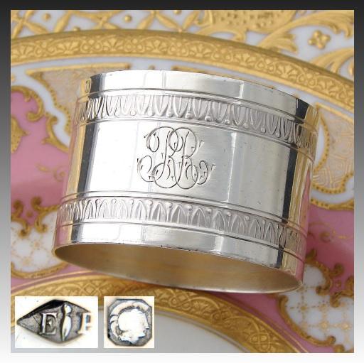 ピュイフォルカ(PUIFORCAT)純銀のナプキンリング