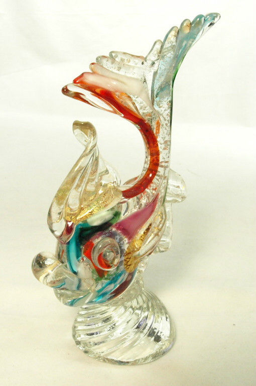 イタリアのヴェネチア製 ベネチアングラスの置物