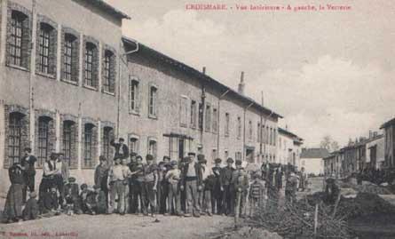 ミューラー兄弟(MullerFreresLuneville) クロワマールのガラス工場