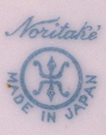 Noritake マルキ印 MADE IN JAPAN ブルー (1905)