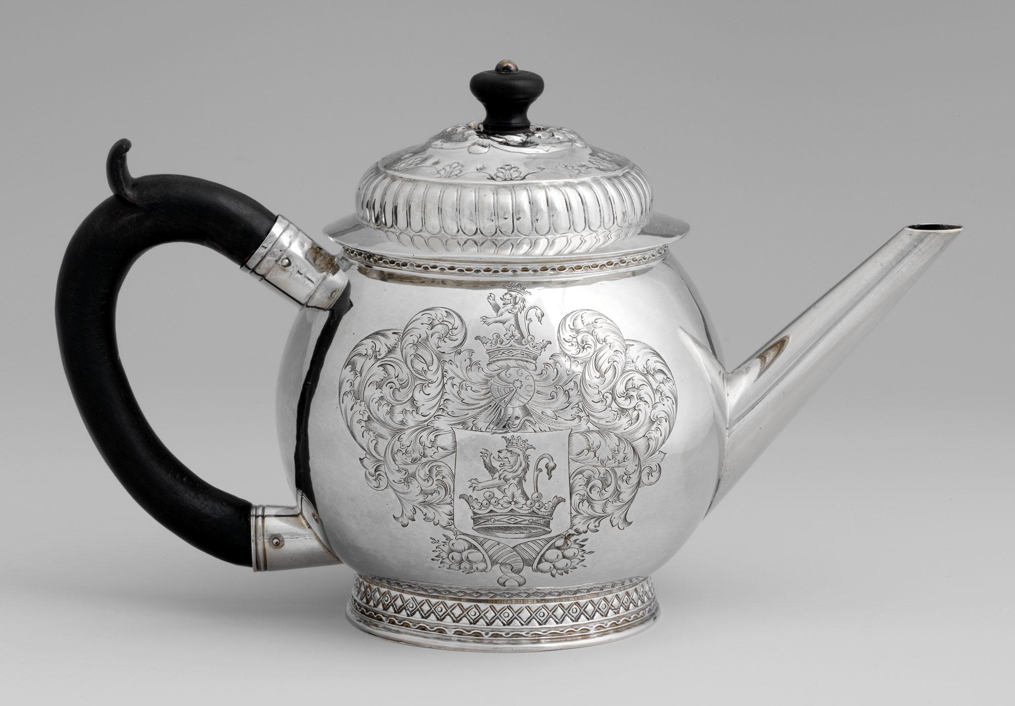 ティーポット 1690-1700